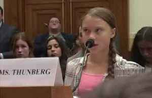 News video: Thunberg tells lawmakers,