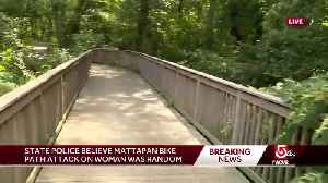 Bike path attack was random, state police say [Video]