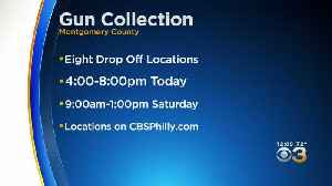 Montgomery County Officers Collecting Guns At 8 Departments Across County [Video]