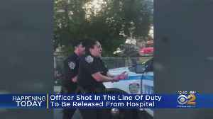 News video: Officer Shot In The Line Of Duty To Be Released From Hospital