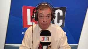 Nigel Farage Says Jeremy Corbyn Is 'Wise' To Stay Neutral [Video]