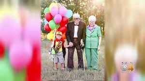 'Up' Photoshoot Goes Viral: Greeley Family Celebrates Mom's Victory In Battle With Cancer [Video]