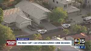 Glendale man hurt in home invasion, police looking for suspect who stole car [Video]