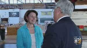 Senator Amy Klobuchar Visits Pittsburgh [Video]