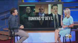 Actor Peter Facinelli Talks New Movie 'Running With The Devil' [Video]