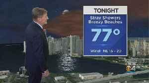 CBSMiami.com Weather 9-18-19 5PM [Video]
