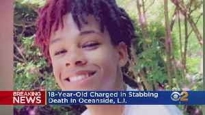 Arrest Made In Teen's Stabbing Death [Video]