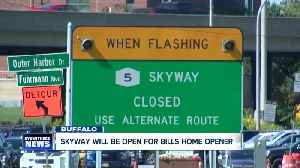 Skyway will be open to traffic Saturday night, NYSDOT reverses decision [Video]