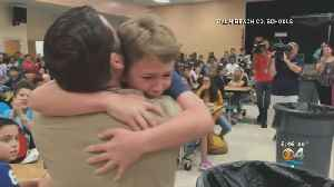 Father Surprises Children At School After 6-Month Deployment [Video]