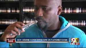 Gov. DeWine considering ban on flavored e-cigarettes [Video]
