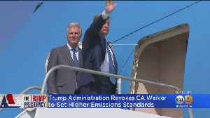 Trump Administration Revokes California Waiver To Set Higher Emissions Standards [Video]