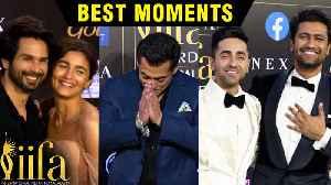 IIFA Awards 2019   BEST & FUNNY Moments   Alia Bhatt, Salman Khan, Shahid Kapoor [Video]
