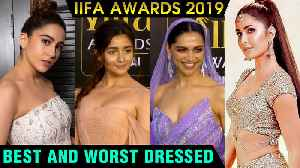 Sara Ali Khan, Alia Bhatt, Katrina Kaif Deepika Padukone | Best And WORST Dressed | IIFA Awards 2019 [Video]