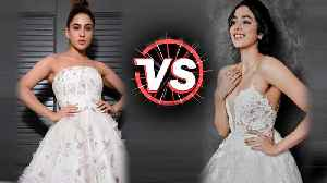 Janhvi Kapoor V/S Sara Ali Khan In White GOWN | Fashion Face-Off | Who Wore It Better? [Video]