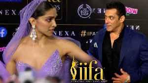 Salman Khan IGNORES Deepika Padukone At IIFA Awards 2019   WATCH [Video]