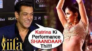 Salman Khan On Dabangg 3, Katrina Kaif Performance, INSHALLAH   FULL INTERVIEW   IIFA 2019 [Video]