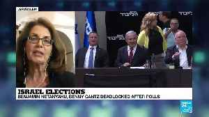 "Israel election: ""It will be up to the president to decide to whom to give this almost poisoned chalice"" [Video]"