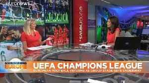 Paris Saint-Germain thrash Real Madrid in Champions League opener [Video]