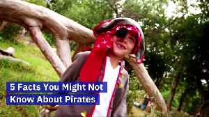 5 Facts You Might Not Know About Pirates (International Talk Like a Pirate Day) [Video]