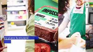 Impossible Burgers to Be Sold in Grocery Stores for the First Time [Video]