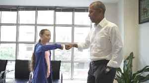 ObamaThunberg_AK_09.19.19 [Video]