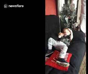 Sleeping UK boy turned into puppet by prankster family [Video]