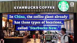 Starbucks to Open Pick-up Only Store in US [Video]