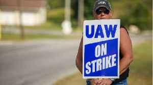 News video: UAW On Strike Talks: Progress, But Issues 'Unresolved'