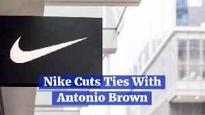 Antonio Brown Is Cut By Nike [Video]