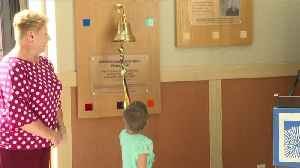 New 'Victory Bell' installed for pediatric and young adult cancer patients [Video]
