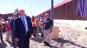 Trump visits 'Rolls Royce' border wall [Video]