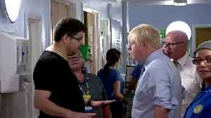 British PM Johnson confronted at a hospital by parent of sick child [Video]