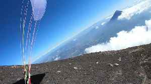 Paragliding Near a Guatemalan Volcano [Video]
