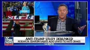 Gutfeld on Reason debunking Trump rally hate crime study [Video]