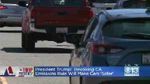 Battle Brewing Over Trump's Revocation Of California's Green Air Waver [Video]