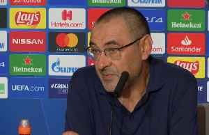 Sarri happy with point at Atletico, laments missed opportunities