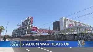 Feud Between Santa Clara And 49ers Over Levi's Stadium Heats Up [Video]