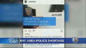 Bay Area Cop Shortage Prompts Police Departments To Entice Rookies With Cash [Video]