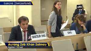 Activists slam Pakistan at UNHRC for spreading terrorism committing human rights violations [Video]