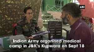 Indian Army organises medical camp in JK Kupwara [Video]