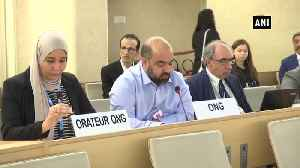 Pak providing support to terrorist groups in Afghanistan claims activist at UNHRC [Video]