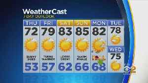 New York Weather: CBS2 9/18 Nightly Forecast at 11PM [Video]