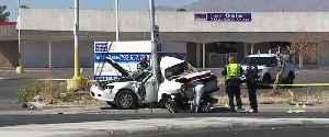 Driver critically hurt in crash in Las Vegas valley [Video]