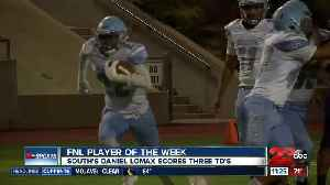 FNL Player of the Week: Daniel Lomax [Video]