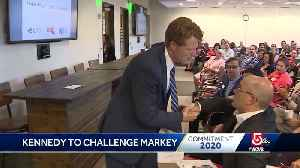 Kennedy to challenge Markey for Senate seat [Video]