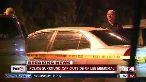 Police investigate car parked outside Lee Memorial emergency room [Video]