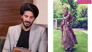 Dulquer Salmaan turns fashion critic rates all of Sonam Kapoor's looks The Zoya Factor Maheroo [Video]