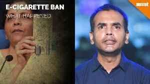 E-cigarette ban Union Cabinet approves ordinance to stop manufacture, sale [Video]