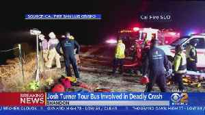 Tour Bus Carrying Country Singer Josh Turner's Crew Crashes, 1 Killed [Video]