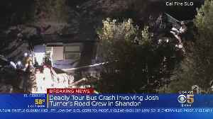 1 Dead In Tour Bus Crash Involving Josh Turner Road Crew In San Luis Obispo County [Video]